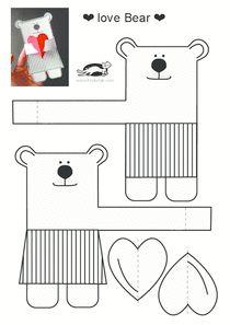 FREE printable love bear   printables for kids