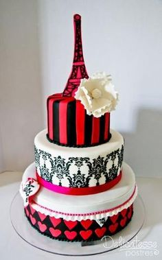 Viva Paris Cake by Ana Oliva