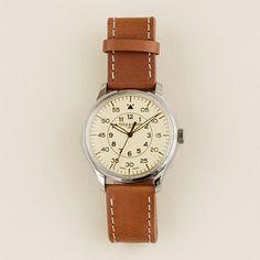 Mougin & Piquard™ for J.Crew Grande Seconde watch in cream