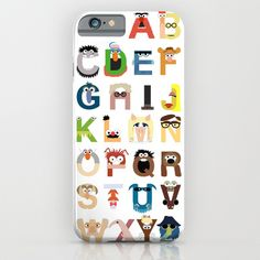 Buy Muppet Alphabet by Mike Boon as a high quality iPhone & iPod Case. Worldwide shipping available at Society6.com. Just one of millions of products…