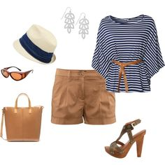 Casual Stroll, created by Miss Sandy on Polyvore
