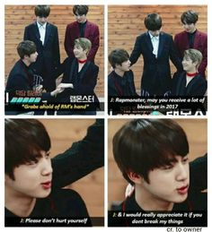 HAHAHAH WHY IS JIN SO SAVAGE THESE DAYS?!