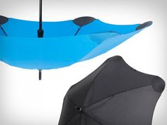 The Grommet team discovers Blunt Umbrellas: high quality umbrellas thoughtfully redesigned to be sturdy and durable.
