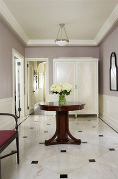 Home Designs Marvelous Flooring White Marble Foyer Design Ideas Entrance Hall Tiles Traditional Style Terrific Entrance Hall Tiles Ideas Hall Tiles. Foyer Flooring, Kitchen Flooring, Flooring Ideas, Kitchen Cabinetry, Floor Design, House Design, Tile Design, Basin Design, Stairs