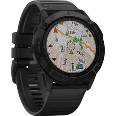 With a big, sunlight-readable in. display that's larger than previous fenix models, the Garmin fenix Pro multisport GPS watch adds mapping, music and more to your workouts. Available at REI, Satisfaction Guaranteed. Top Watches For Men, Cool Watches, Smartwatch, Android Watch, Sport Watches, Gps Watches, Rugged Watches, Gadget Watches, Expensive Watches