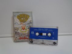 Vintage 1994 Original Green Day Dookie Cassette Tape Music Album by Reprise Records by PopWildlife on Etsy