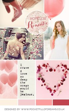 Hopeless-Romantic Wedding Inspiration Board from Pocketful-of-Dreams