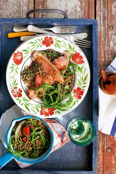 This lamb recipe is similar to salt marsh lamb, where the briny sea flavour – from the samphire – sits comfortably with the meat. Late new season lamb (May/June) is one of the greatest joys of early summer.