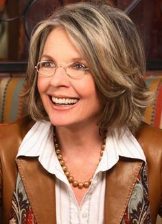Medium Hair Styles For Women Over 40 | Diane Keaton as Christian's mom, Dr. Grace ... | 50 Shades Of Gray