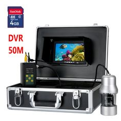 """408.00$  Watch here - http://alife0.shopchina.info/go.php?t=32799210297 - """"50M 7"""""""" TFT DVR Recorder Underwater Video Fishing Camera System 360 Degree Remote Control Lake Fishing Underwater Exploration 4GB"""" 408.00$ #shopstyle"""