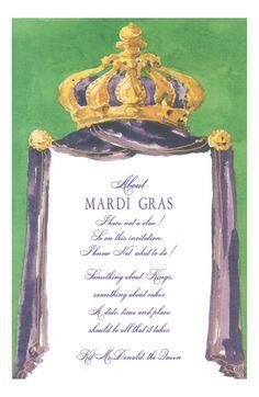 Rex Crown Invitation from Odd Balls Invitations