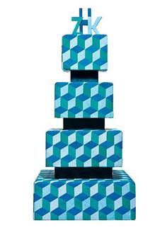 Awesome Geometric Cake!