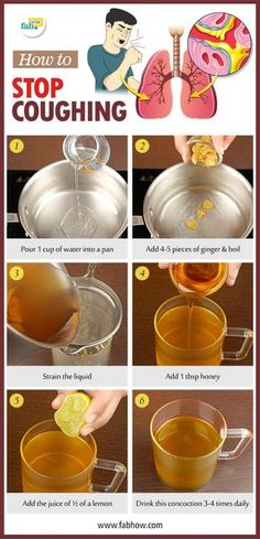 Home Remedies to Stop Coughing Fast without Drugs!