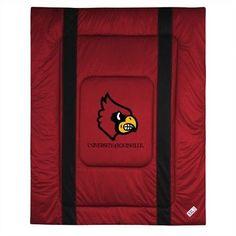 NCAA University of Louisville Sidelines Comforter
