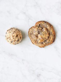 Biscuits au chocolat et aux pacanes à congeler Recettes   Ricardo