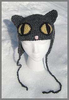 Ravelry: Crazy Cat Hat pattern by Brenda K. B. Anderson