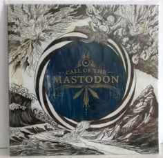 Mastodon - Call Of The Mastodon LP Record Red Vinyl Limited 1500 - BRAND NEW #mastodon