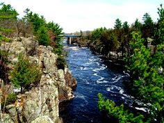 St. Croix River from Minnesota's Interstate State Park