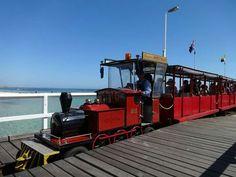 Busselton jetty train Western Australia, Westerns, Train