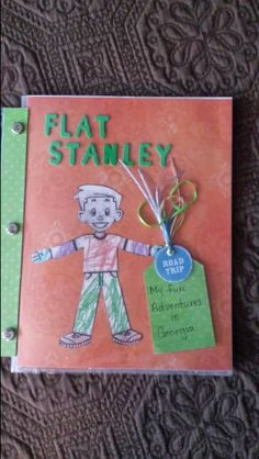 Flat Stanley Created for my Grandson Flat Stanley, Library Programs, Girl Scouts, Scrapbooks, Geography, Ivy, Activities For Kids, Classroom, Flats