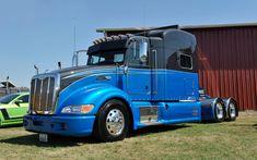Peterbilt 386, Peterbilt Trucks, Hot Rods, Vehicles, Rolling Stock, Vehicle, Street Rods