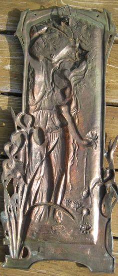 art nouveau metal doors - Google Search