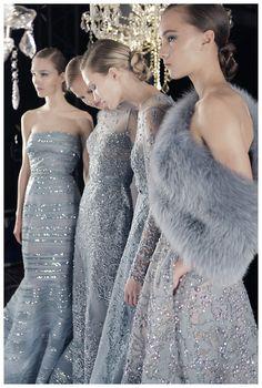 Elie Saab Fall/Winter 2014-2015 Couture at Paris Fashion Week.