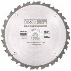 Buy CMT 286 Saw Blade for sale at Scott+Sargeant Woodworking Machinery: Showroom warehouse near London Router Cutters, Circular Saw Blades, Woodworking Machinery, Router Bits, Tools, Lama, Orange, Samurai, Building