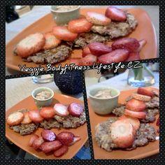 Veggie Bodyfitness Lifestyle CZ: Lívanečky s cottage sýrem a tvarohovým přelivem :)...