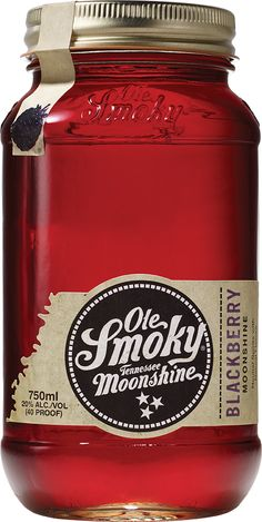 Ole Smoky Moonshine Blackberry - Taste the sweeter side of life in the nectar of the Appalachian Gods that is captured in Ole Smoky® Blackberry Moonshine. Mix it in with some lemonade, throw it in a copper cup and enjoy a long afternoon of Corn Hole with friends. There's no need to muddle tiny pieces of fruit when our blackberries create a smooth yet spirited flavor with a kick that'll keep things interesting.