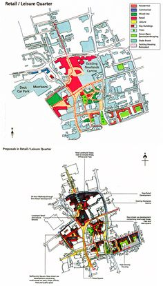Atkins Retail & leisure-led Kettering Masterplan 2005.