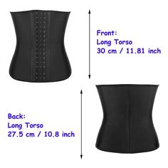 3975c7e54b Voluex Latex Underbust Corset Steel Boned Breathable Waist Training Cincher  Black Slimming Waist Trimmer     More info could be found at the image url.