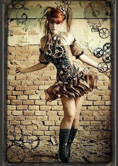 naehliesl:    steampunk!    Steampunkbeauty of the day! (may have posted…