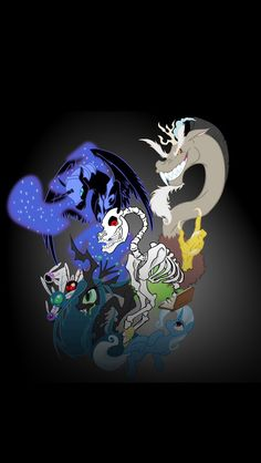 The book of villains: Poninomicon by on DeviantArt Mlp, Nightmare Moon, Princess Luna, My Little Pony Friendship, The Book, Deviantart, Wallpaper, Books, Fictional Characters