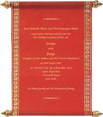 Red wedding program pinterest wedding ceremony programs we cordially invite you to the engagement ceremony of my son ruthik kavya on friday stopboris Images