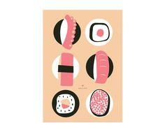 Pôster Sushi