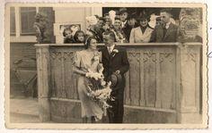 Wedding of Adriana van Sluijs and Klaas Besuyen  1940