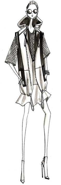 Kenneth Cole Spring 2014 Sketch