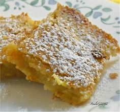 "Gluten-Free Lemon Bars:   			""These have the traditional shortbread like crust with the tangy, sweet-sour filling of lemon. This was my grandmother's recipe that I converted to gluten free."" -gratefullygf"