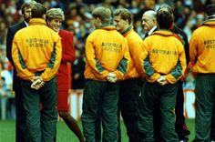 Sport - Rugby - World Cup 1991 - Wales v Australia -Princess Diana is introduced to the Australian team before the game - 12th October 1991 -Western Mail and Echo Copyright Image