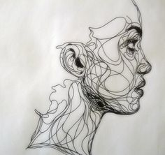 kristrappeniers:    Ink draw