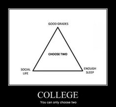For grad school, I say you can only really choose one :(