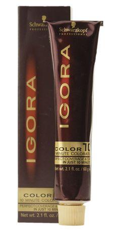 schwarzkopf professional igora color10 hair color - Igora Coloration