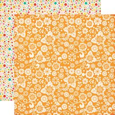 Echo Park - Summer Bliss Collection - 12 x 12 Double Sided Paper - Summer Fun