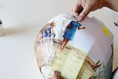 DIY Photo Lanterns | Looks like a lot of work, but the results are cool