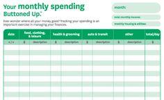 Do you track your family spending?