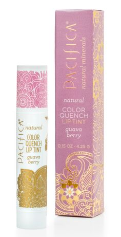 Color Quench Lip Tint - Guava Berry | Pacifica Perfume