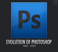 Adobe Photoshop has always been one of the greatest (if not the best) software when it comes to manipulating and editing image. It all started off in 1987 Mac Application, Two Decades, Adobe Photoshop, Evolution, Software, Things To Come, Display, Funny, Inspiration