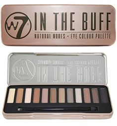 PRODUCT DETAILS : n the Buff Eye Colour Palette from W7 They are easy to blend complimentary shades. Contains 12 eyeshadows: Buff, Camel, Sand, Dust, Chocolate, Topaz, Earth, Storm, Silk, [ ]
