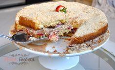 Naked Cake de Morango e PassaTempo - Monta Encanta